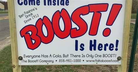 What's the deal with South Jersey's BOOST! beverage ...