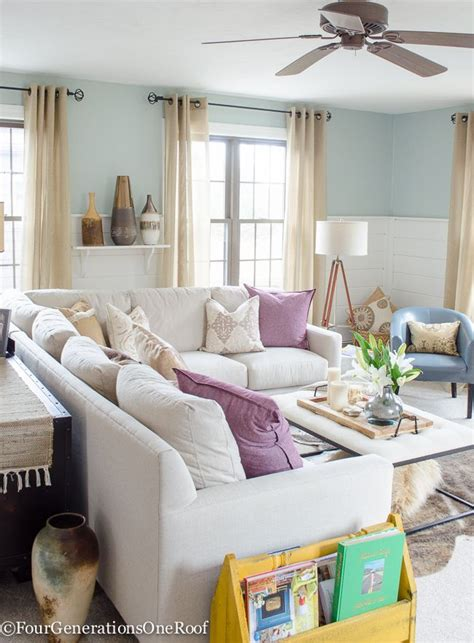 Living Room Colors That Pop by How To Decorate With Pops Of Color Our Living Room Best