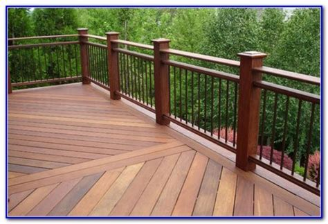 Wrought Iron And Wood Deck Railing   Decks : Home