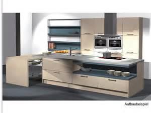 küche alno wellmann alno messeküche kochinsel incl geräte tisch musterküche küche insel ebay
