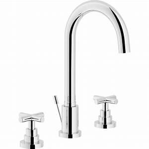 Robinet 3 Trous Lavabo : robinet lavabo 3 trous porcher simple amazing robinet ~ Edinachiropracticcenter.com Idées de Décoration