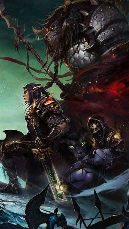 Warcraft Iphone Phone Wallpapers Wallpaperaccess Backgrounds