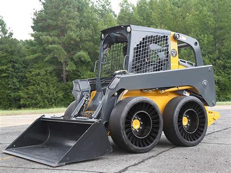 michelin brings   airless skid steer tyres