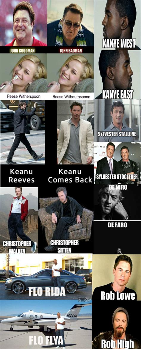 celebrity  puns  mrfishsticks meme center