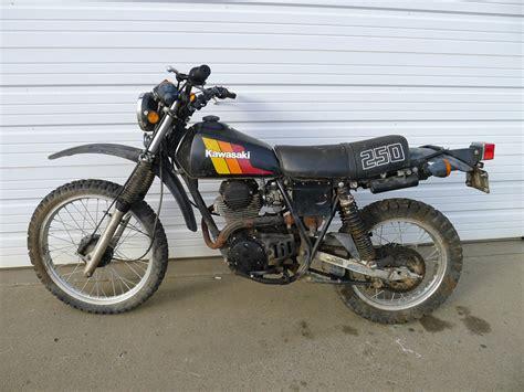 Kawasaki Enduro 1982 Kl250 Vintage Mx Retro Classic Ahrma