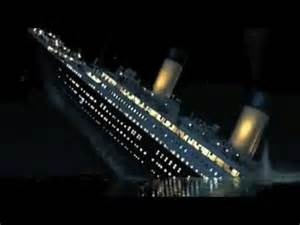 quot titanic sinking quot youtube