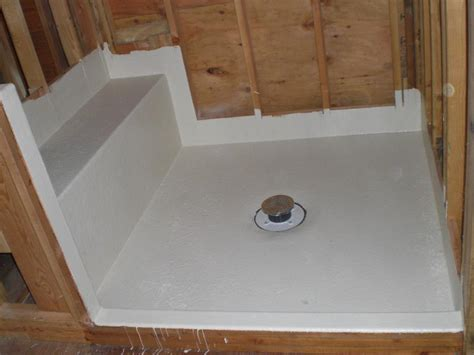 Shower Pans Installation How To Install Fiberglass Shower Pan Cookwithalocal Home