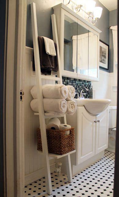 ideas  bathroom towel storage  pinterest