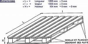 Dimension Palette Europe : hauteur d une palette bande transporteuse caoutchouc ~ Dallasstarsshop.com Idées de Décoration