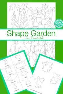 Free Printable Kids Garden Worksheet