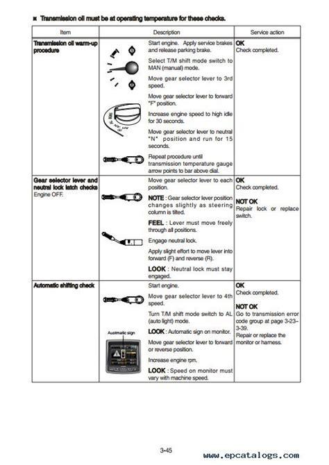 hyundai hl  wheel loader service manual