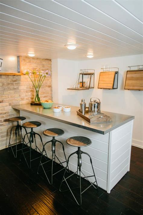 stylish basement bar decor ideas digsdigs