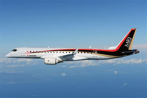 Mitsubishi MRJ Rolls Out After Four-Year Delay - Airways ...