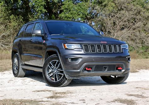 2017 Jeep Grand Cherokee Trailhawk Test Drive Review