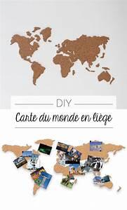 Carte Du Monde En Liège : diy carte du monde patron gratuit et li ge ~ Melissatoandfro.com Idées de Décoration