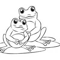 FREE Frog Coloring Pages to Print Out and Color!