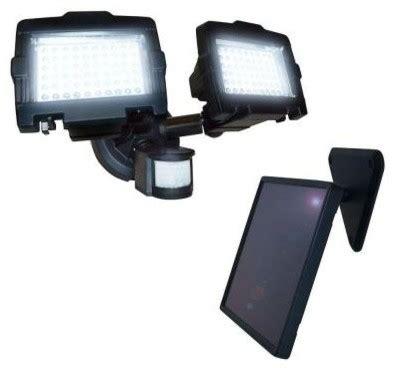 nature power flood lights 120 led outdoor black solar