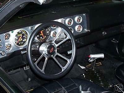 79 80 81 camaro aluminum dash bezel panel custom for