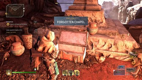 Outriders Forgotten Chapel - how to complete the secret ...