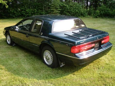 how cars engines work 1992 mercury cougar user handbook 1992 mercury cougar 25th anniversary edition for sale photos technical specifications description