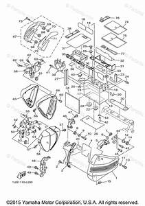 Yamaha Motorcycle 2014 Oem Parts Diagram For Side Cover