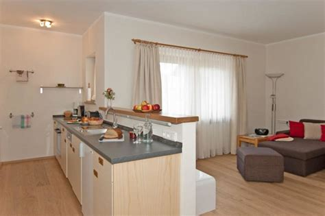 einrichtungsideen wohnzimmer mit offener kueche