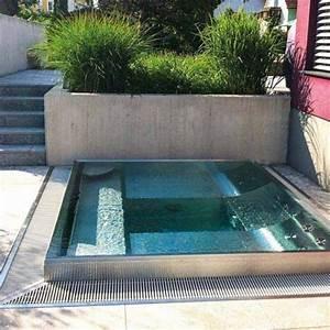 Kleiner Pool Terrasse : exklusive whirlpools aus edelstahl f r terrasse und wellnessraum garten pinterest ~ Sanjose-hotels-ca.com Haus und Dekorationen