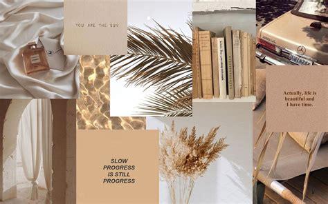 beige aesthetic desktop wallpapers
