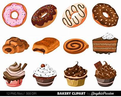 Bakery Clipart Clip Vector Cake Pie Dessert