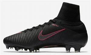 Black / Pink Nike Mercurial Superfly V 2016-2017 Boots ...