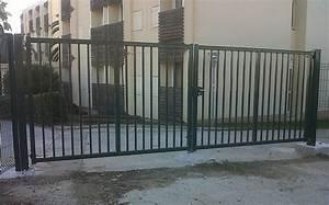 Portail Battant 5 Metres : direct portails ~ Nature-et-papiers.com Idées de Décoration
