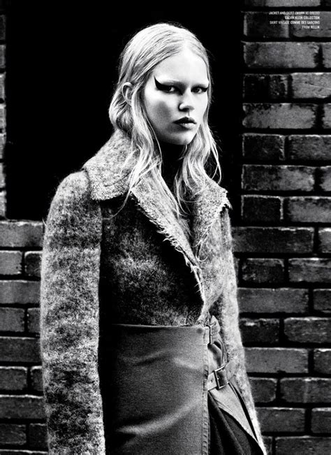 Anna Ewers For V Magazine By Willy Vanderperre
