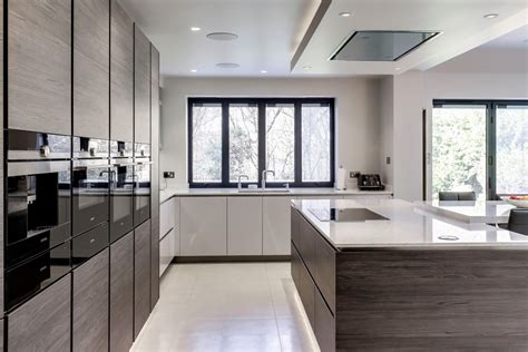 gloss taupe cockfosters blax kitchens