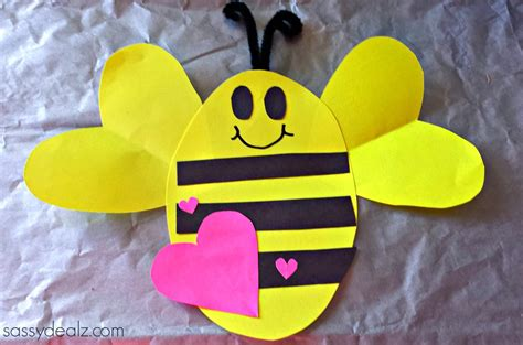 quot bee mine quot s day craft for crafty morning 315 | bee mine valentine craft