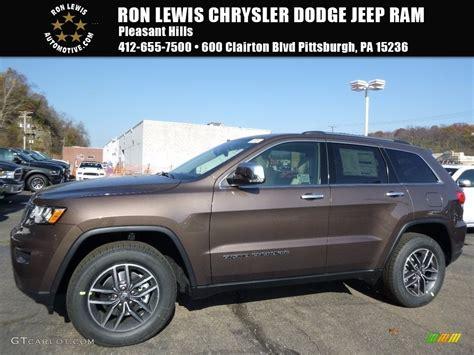 2017 Walnut Brown Metallic Jeep Grand Cherokee Limited 4x4