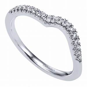 Gabriel Co Engagement Rings Curved ByPass 16ctw Diamonds