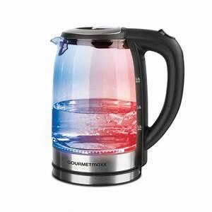 Wasserkocher Mit Led : gourmetmaxx glas wasserkocher mit led farbwechsel ~ Buech-reservation.com Haus und Dekorationen