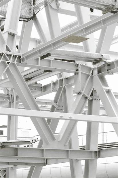 Steel Structure Architecture Construction Frame Metal Roof