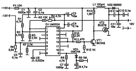 Electrical Wiring Diagram For A Laptop by Laptop Power Supply For Car Schematic Diagram