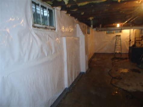 cleanspace wall vapor barrier  waterguard perimeter