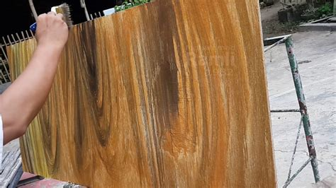 Merk Cat Tembok Untuk Motif membuat motif papan kayu ini caranya