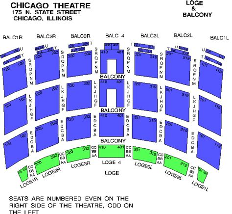venue seating charts fm chicago wtmx