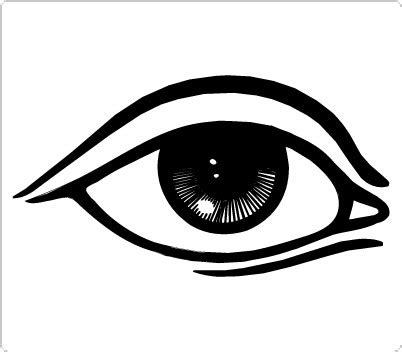 simple eye clipart black and white human eye clip clipart panda free clipart images
