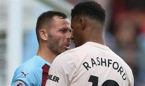 Revealed: How 'unhappy' Rashford reacted to being sent off ...