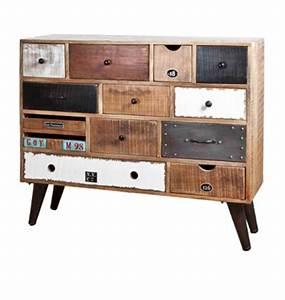 Commode 8 Tiroirs : meubles multi tiroirs color s ~ Teatrodelosmanantiales.com Idées de Décoration