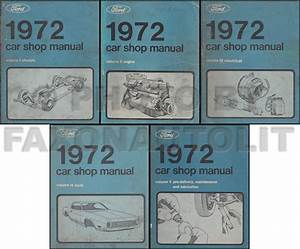 1972 Ford Maverick And Mercury Comet Wiring Diagram Original