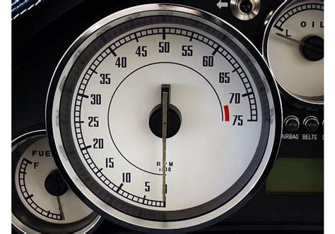 Rs Products Gauge Faces Type-002 For Miata Mx5 Nc