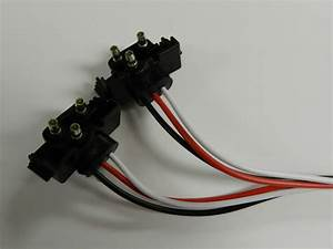 Truck Trailer Molded 3 Prong Pigtail Harness  Stop    Turn