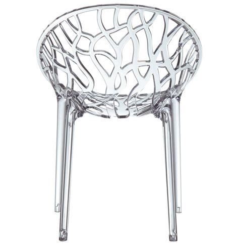 chaise en verre transparente chaise moderne geo transparente en polycarbonate chaise