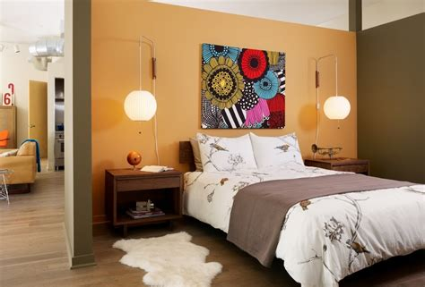 hip home decor tangerine bedroom decor interior design ideas